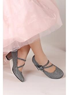 KİKO KİDS Kiko 750 Çupra Günlük Kız Çocuk 4 Cm Topuk Babet Ayakkabı